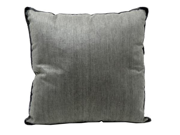 Sofakissen El Naradja - dunkelgrau/schwarz - 45x45cm - Baumwolle