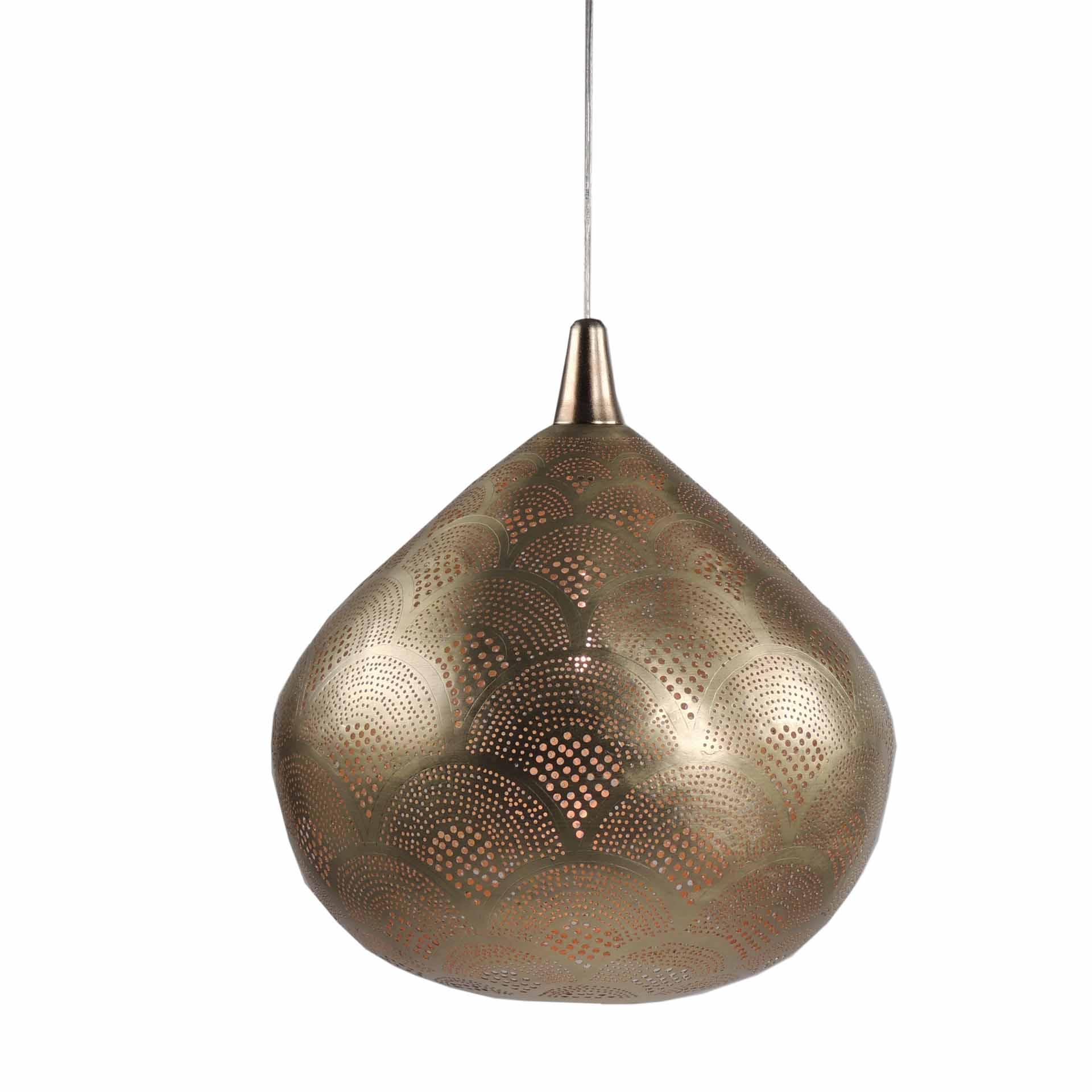 Orientalische Hängelampe gold