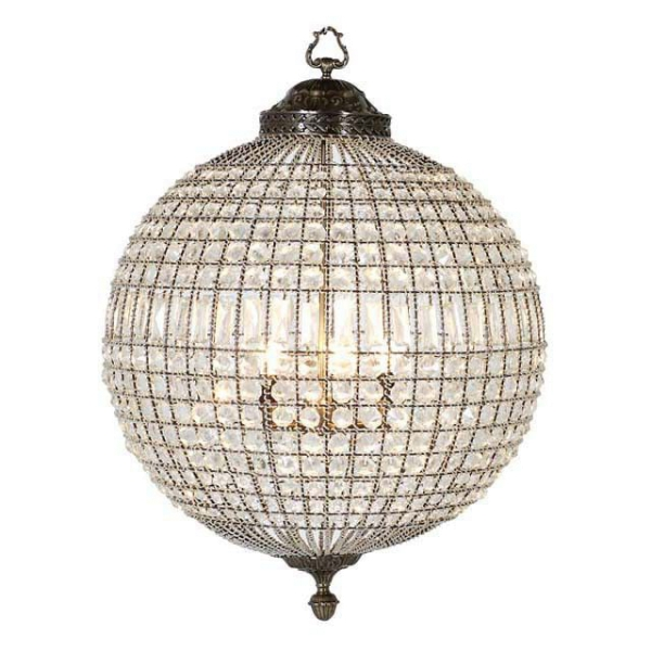 Chandelier Kasbah Kugel L, brass finish, Eichholtz