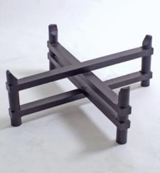 Tablettuntergestell Mora - Höhe 25 cm - Holz lackiert - Handwerk
