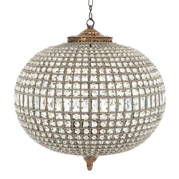 Chandelier Kasbah Oval L, brass finish, Eichholtz