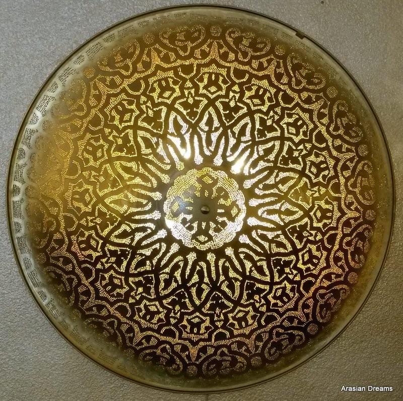 Wandlampe/Deckenlampe - 100cm - Sonderedition 19/20 goldfarben by Arasian Dreams