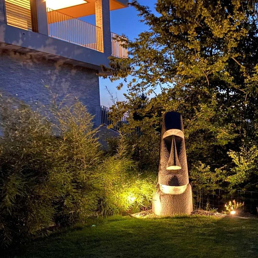 2 Meter Moai Osterinsel Kopf Garten