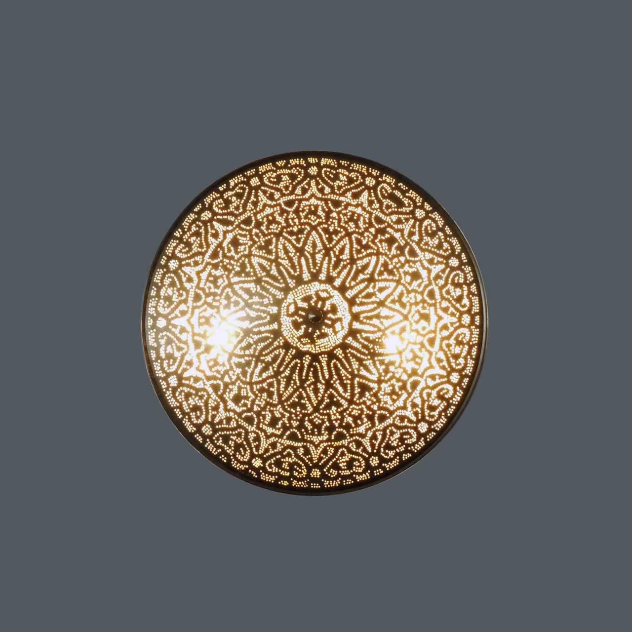 Wandlampe / Deckenlampe - 50 cm - goldfarben - Sonderedition XLs - Zenza