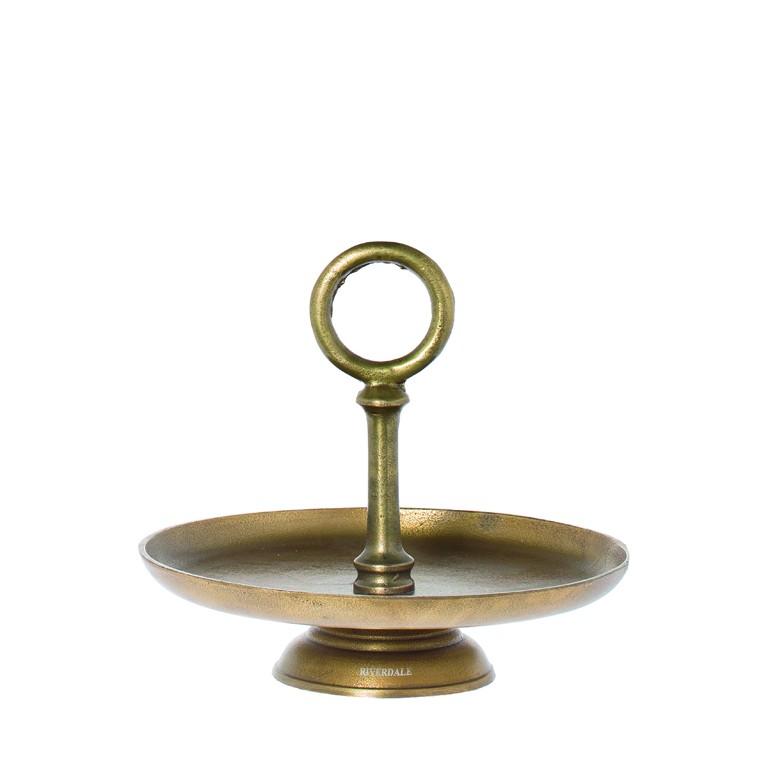 Etagere York - bronzefarben - D 35cm - Riverdale