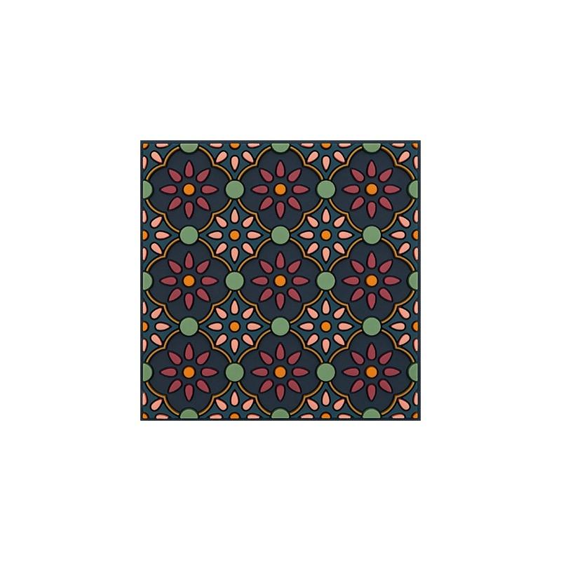 Untersetzer Silikon - Coaster Zahra Pink - 9x9cm