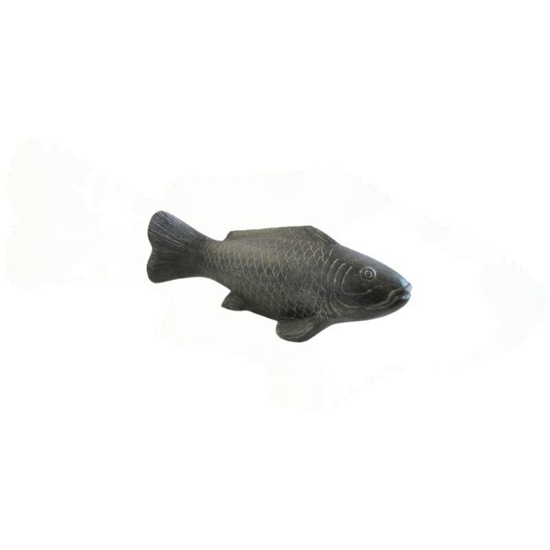 Fische - Stein / Vollguss - Länge ca. 26 cm - Indonesien