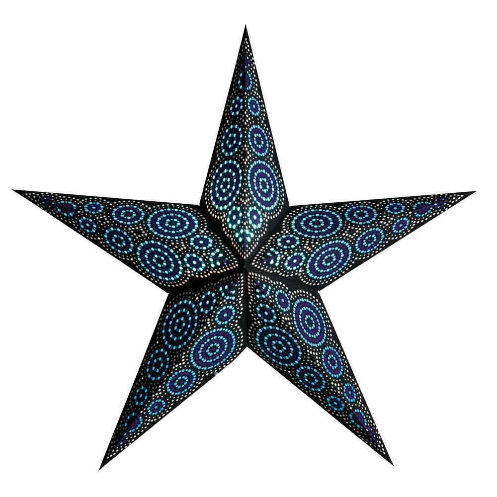 starlightz marrakesh black/turquoise - size M