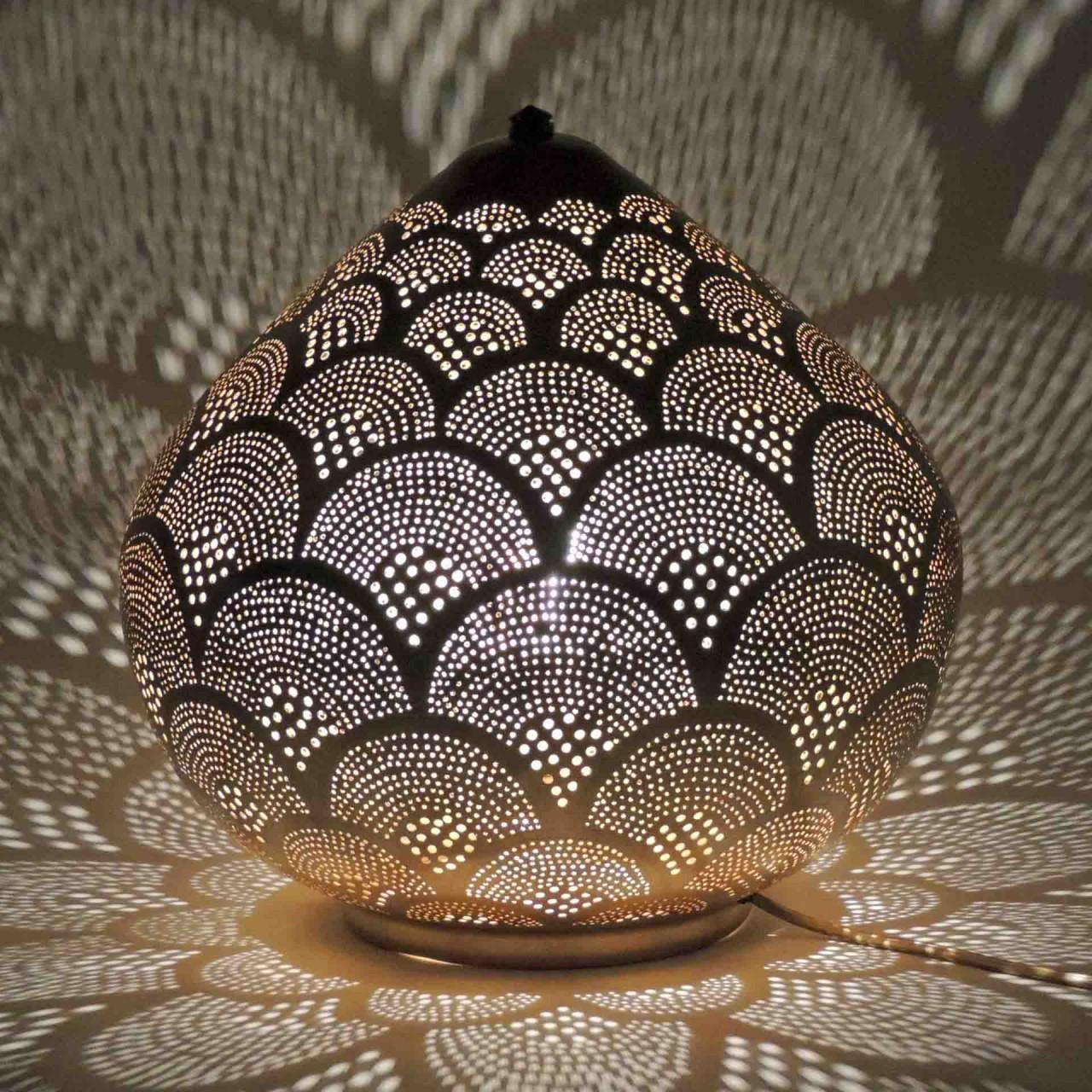 Tischlampe - Princess Fan Large goldfarben - Zenza