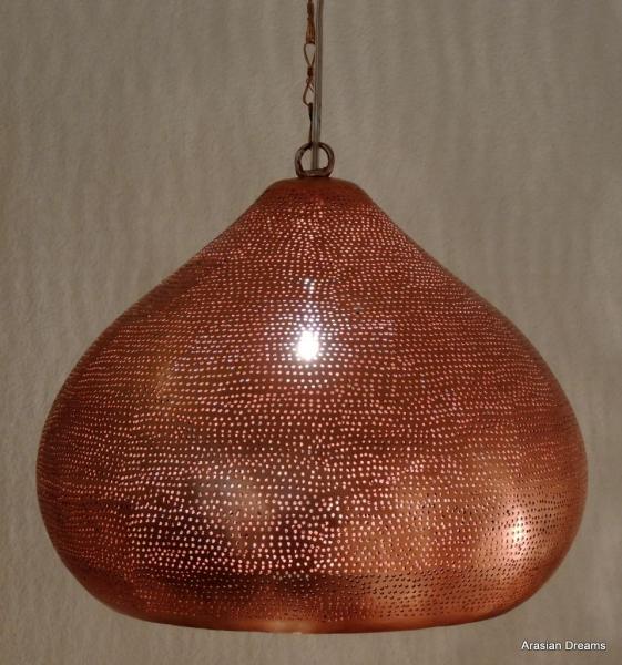 Hängelampe - Laicum - Kupfer - Handwerk - Hadaya