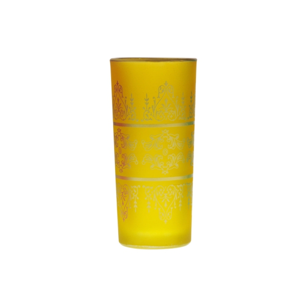 Wasserglas Tunis, Gelb