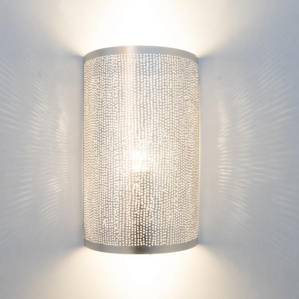 Wandlampe - Filisky Small - versilbert - Zenza