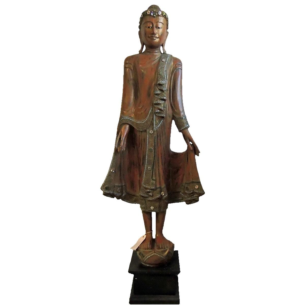 "Buddha Figur ""Phra Thong Mandalay"" Unikat 150cm Höhe"