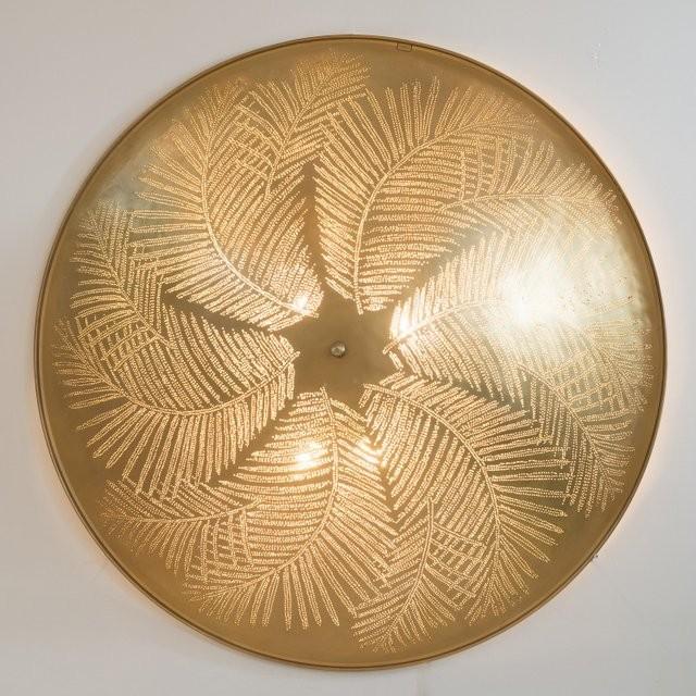 Wandlampe/Deckenlampe - 100 cm - Tropic XXL - goldfarben - Zenza
