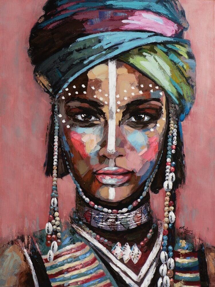 Wandbild - Magical Beauty - auf Leinwand - 90 x 120 - handbearbeitet
