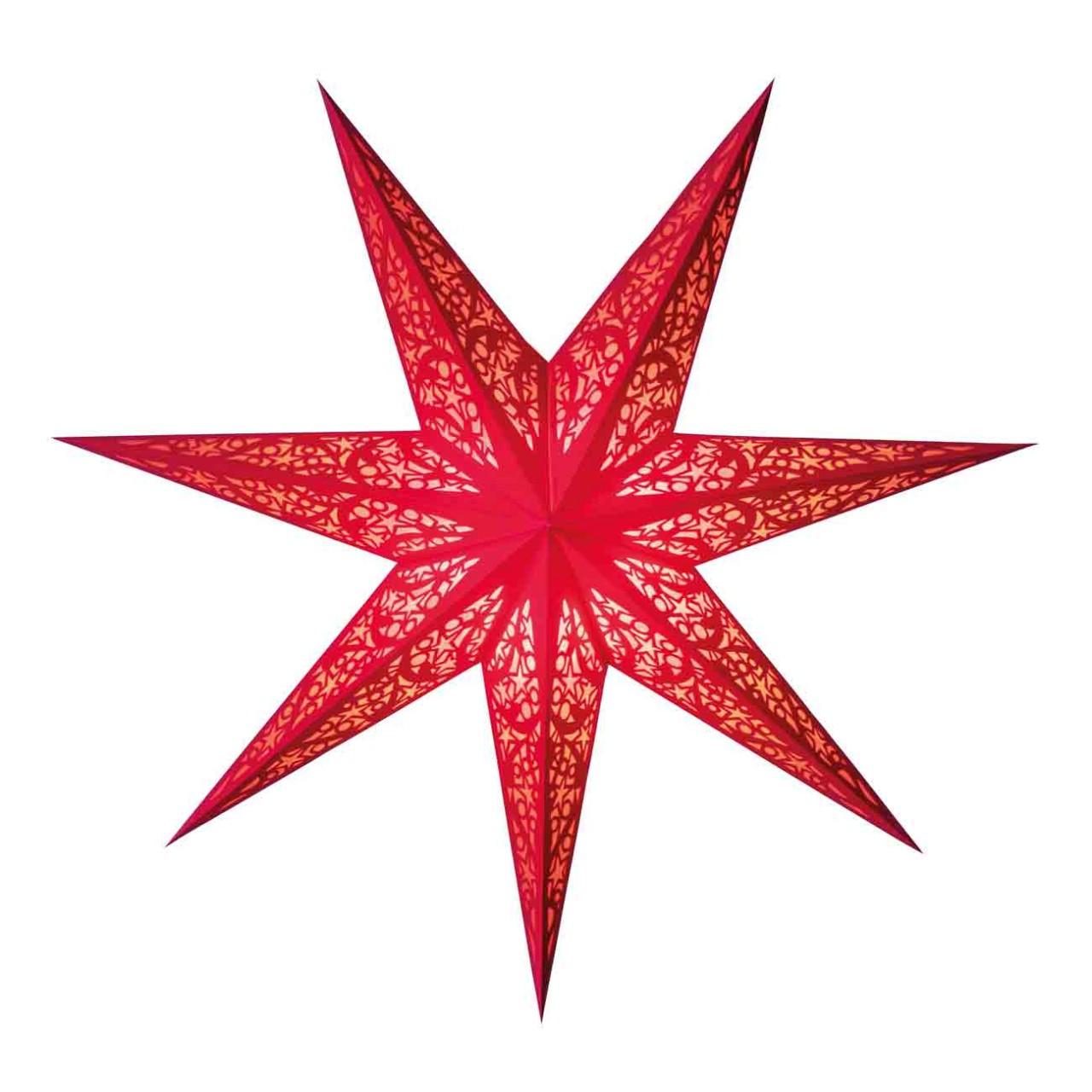 starlightz lux red - size M - Scherenschnitt Design