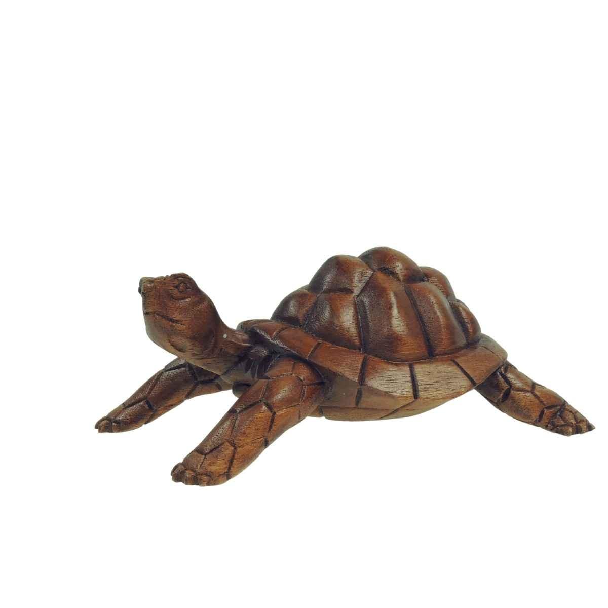 Schildkröte handgeschnitzt Soarholz Länge ca. 20 cm